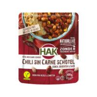 HAK chili sin carne schotel