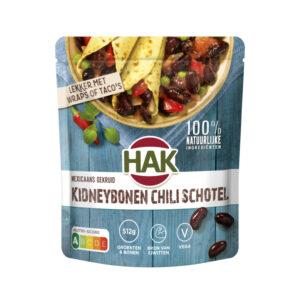 HAK kidneybonen chili schotel