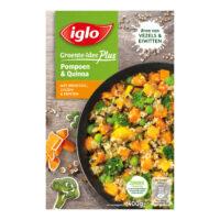 Iglo groente-idee plus pompoen & quinoa