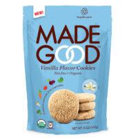 Made Good vanilla flavor cookies