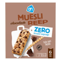 AH mueslireep chocolade zero