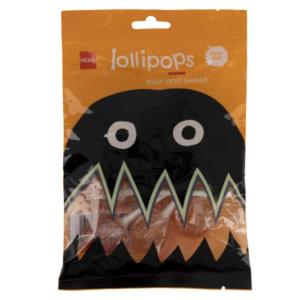 Hema halloween lolly's