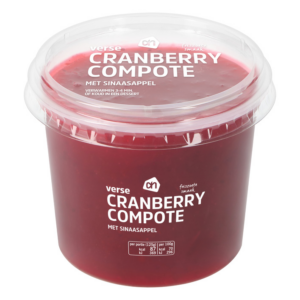 AH Verse cranberry compote