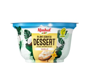 Almhof plantaardig dessert vanille