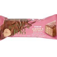 Rhythm 108 vegan almond & sea salt chocolate bar