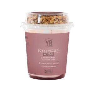 Yoghurt Barn soya specials aardbei