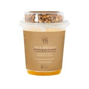 Yoghurt Barn soya specials perzik & abrikoos