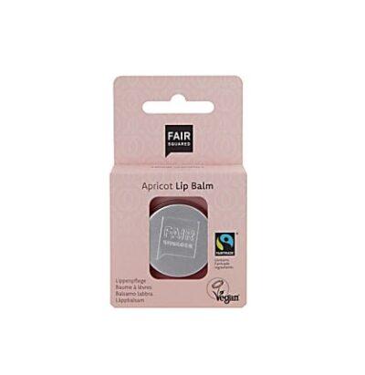 Fair Squared apricot lip balm