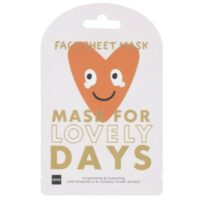 Hema face sheet mask for lovely days strawberry & camelia flower extract