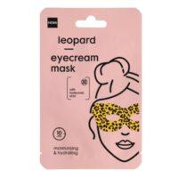 Hema leopard eyecream mask