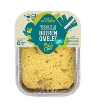 Rebl Chef vegan boeren omelet